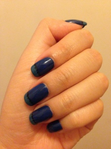 blue french