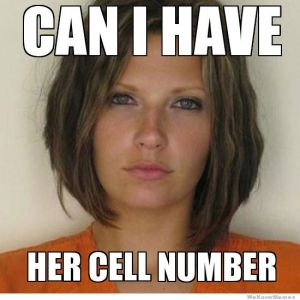 ridiculously photogenic convict