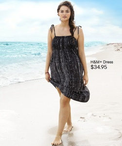 H&M plus-size beachwear 7