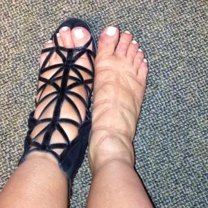 kim feet