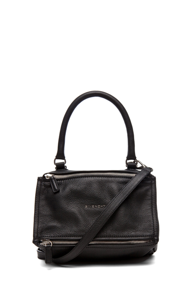 givenchy pandora grain goat leather in small