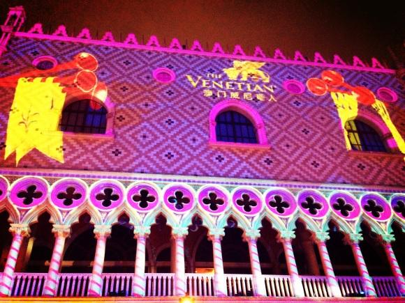 carnevale extravaganza at venetian macau